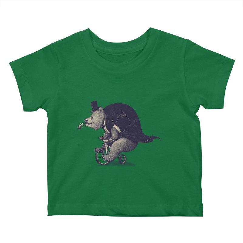 Mr.Bear Kids Baby T-Shirt by ES427's Artist Shop