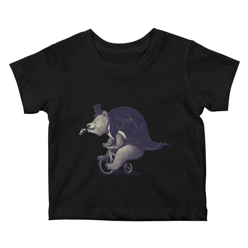 Mr.Bear Kids Baby T-Shirt by ES427's Artist Shop