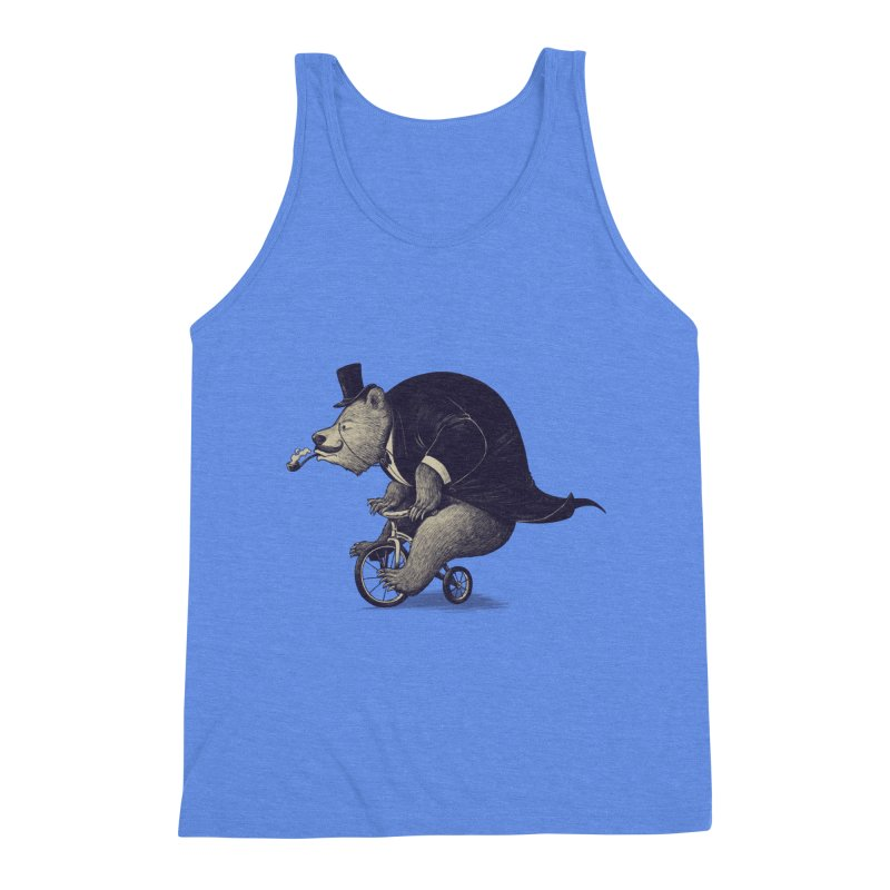 Mr.Bear Men's Triblend Tank by ES427's Artist Shop