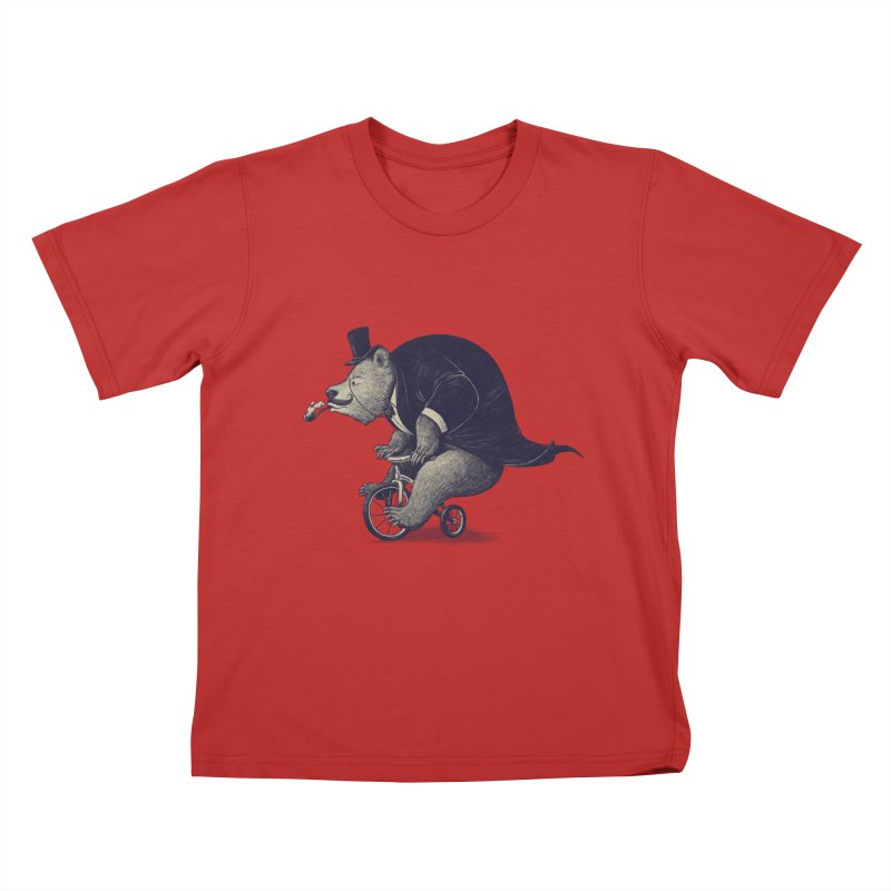 Mr.Bear Kids T-Shirt by ES427's Artist Shop