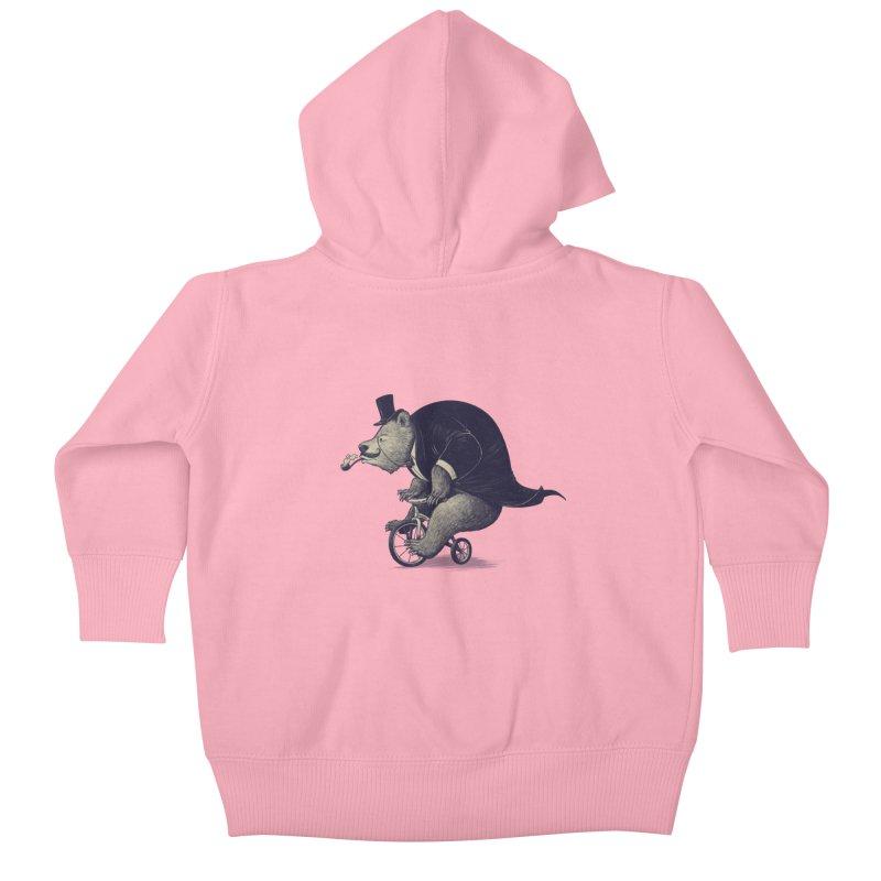 Mr.Bear Kids Baby Zip-Up Hoody by ES427's Artist Shop