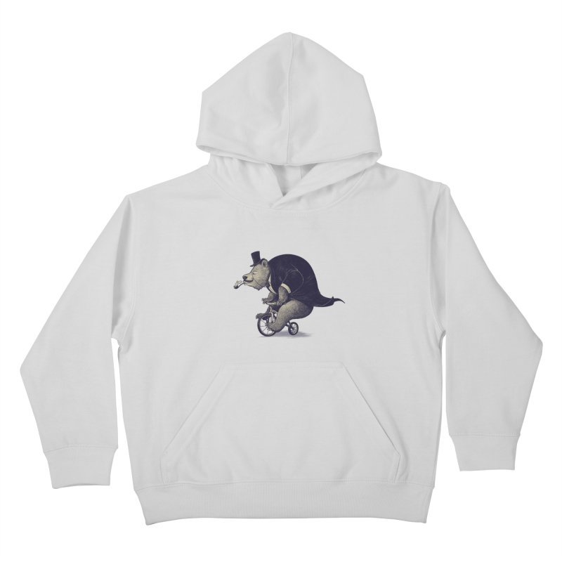 Mr.Bear Kids Pullover Hoody by ES427's Artist Shop