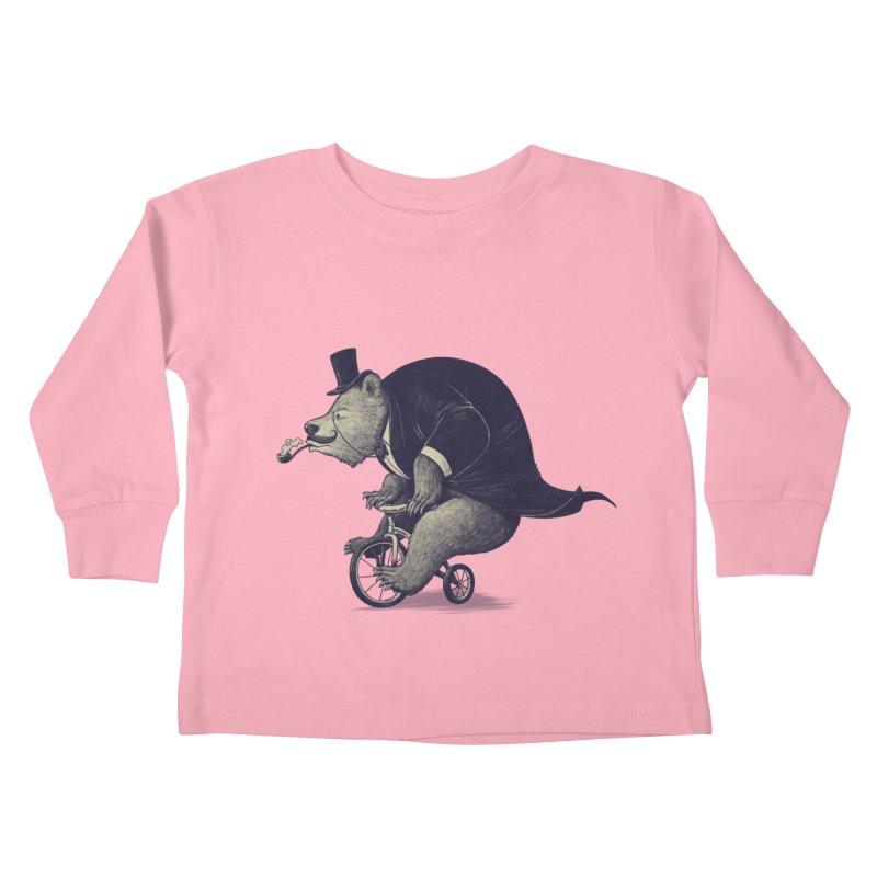 Mr.Bear Kids Toddler Longsleeve T-Shirt by ES427's Artist Shop