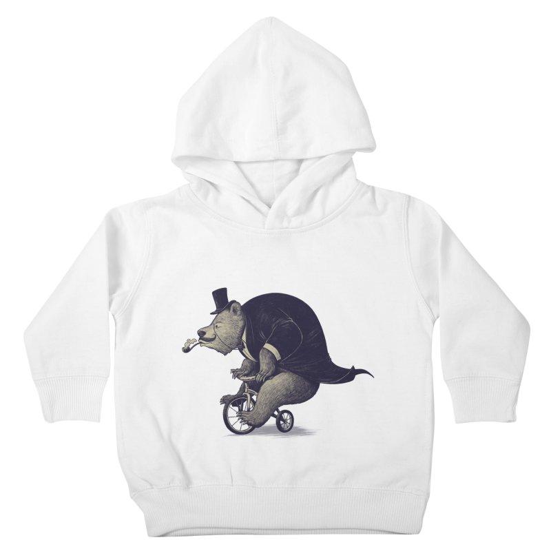Mr.Bear Kids Toddler Pullover Hoody by ES427's Artist Shop