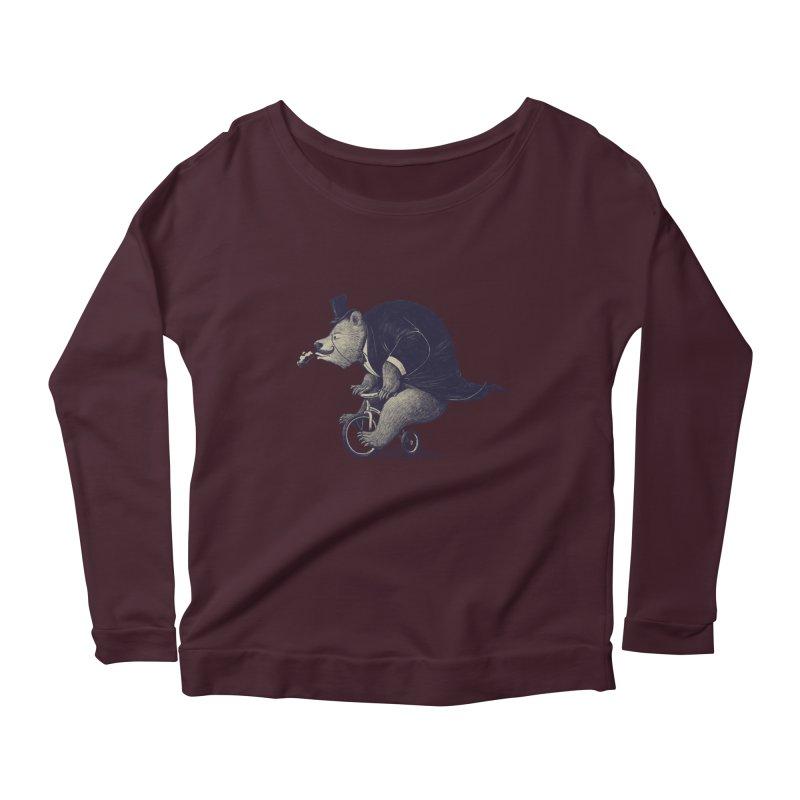 Mr.Bear Women's Scoop Neck Longsleeve T-Shirt by ES427's Artist Shop