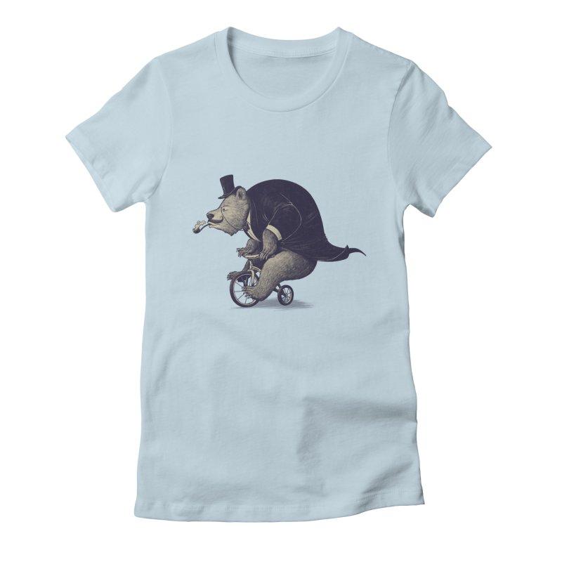 Mr.Bear Women's Fitted T-Shirt by ES427's Artist Shop