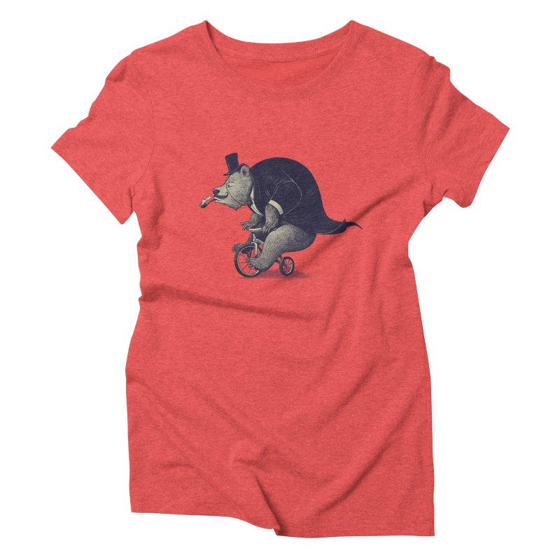 Mr.Bear Women's Triblend T-Shirt by ES427's Artist Shop