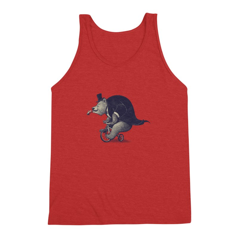 Mr.Bear Men's Triblend Tank by ES427's Artist Shop