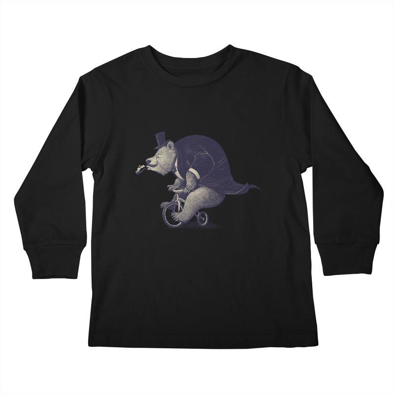 Mr.Bear Kids Longsleeve T-Shirt by ES427's Artist Shop