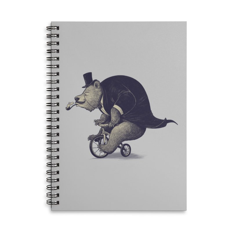 Mr.Bear Accessories Lined Spiral Notebook by ES427's Artist Shop