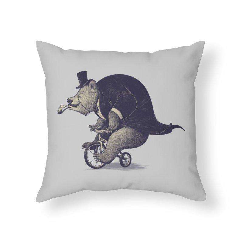 Mr.Bear Home Throw Pillow by ES427's Artist Shop