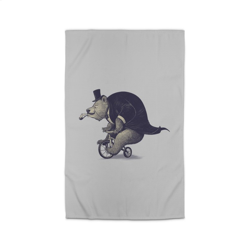 Mr.Bear Home Rug by ES427's Artist Shop