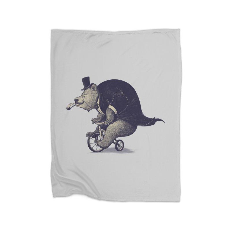 Mr.Bear Home Blanket by ES427's Artist Shop