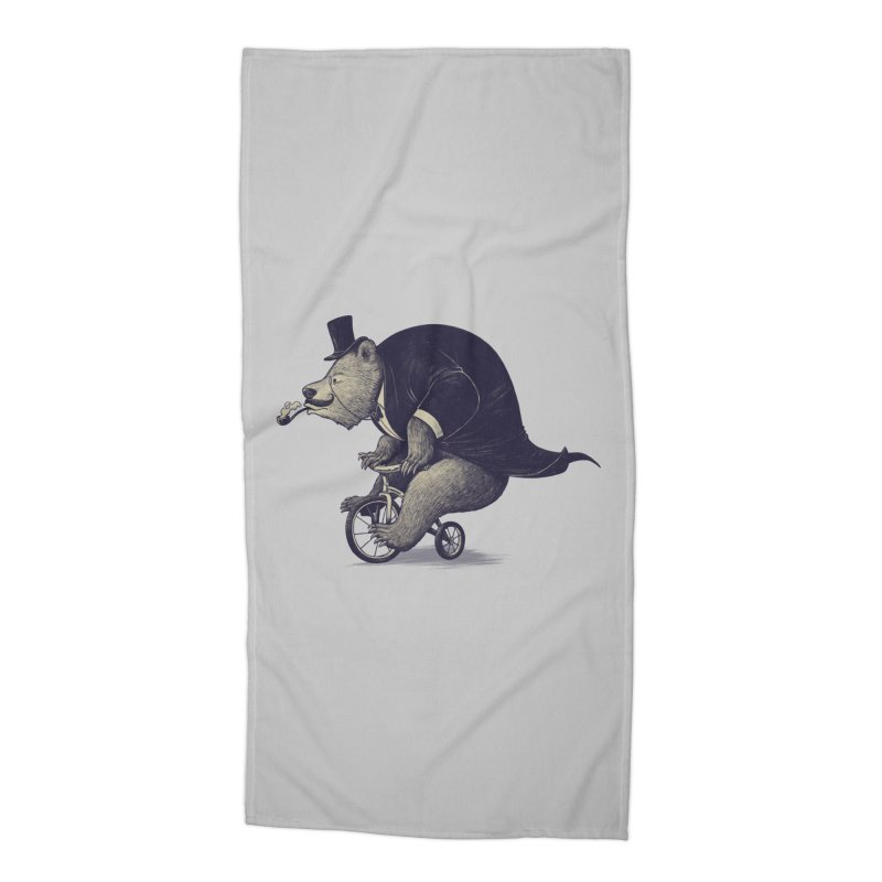 Mr.Bear Accessories Beach Towel by ES427's Artist Shop