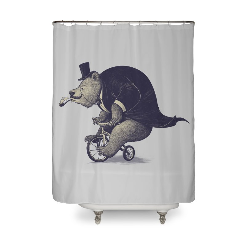 Mr.Bear Home Shower Curtain by ES427's Artist Shop