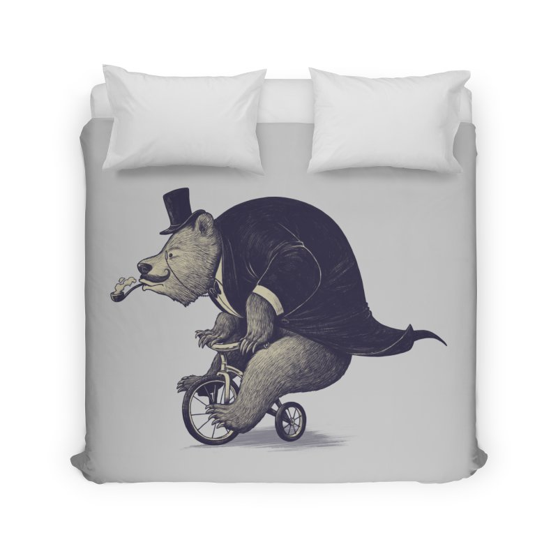 Mr.Bear Home Duvet by ES427's Artist Shop