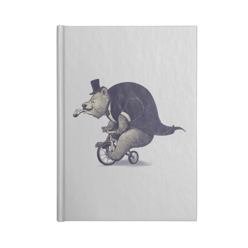 Mr.Bear Accessories Blank Journal Notebook by ES427's Artist Shop