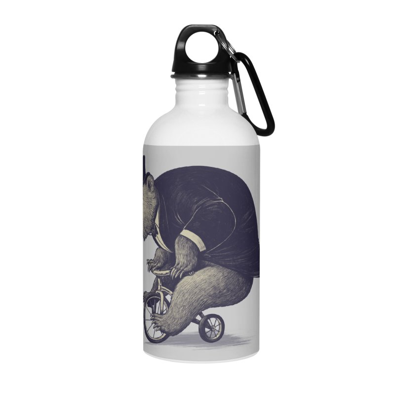 Mr.Bear Accessories Water Bottle by ES427's Artist Shop