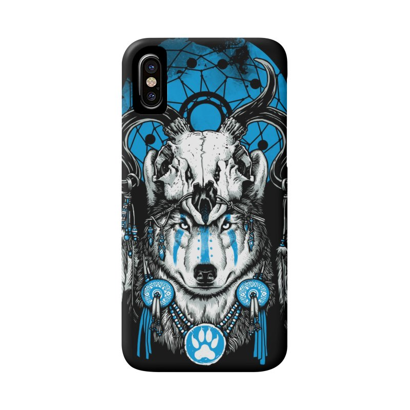 Wolf Spirit Accessories Phone Case by ES427's Artist Shop
