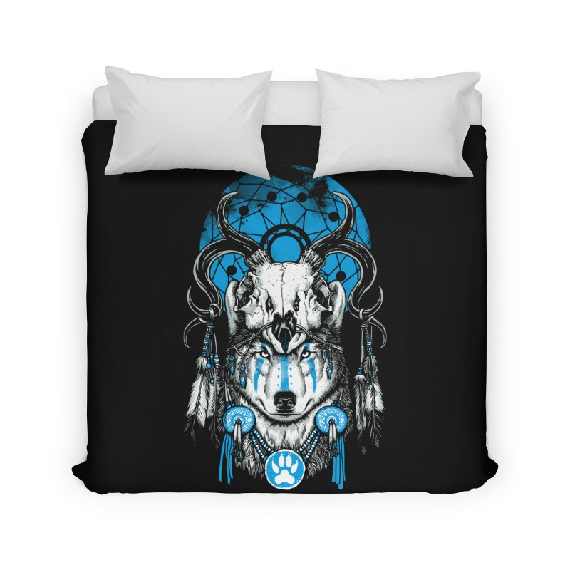 Wolf Spirit Home Duvet by ES427's Artist Shop