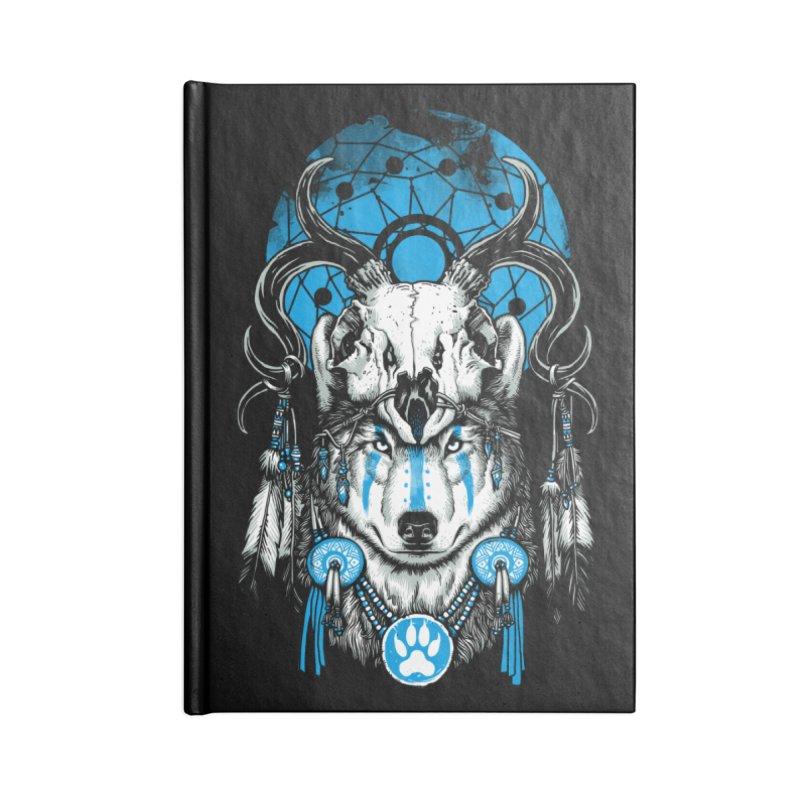 Wolf Spirit Accessories Lined Journal Notebook by ES427's Artist Shop
