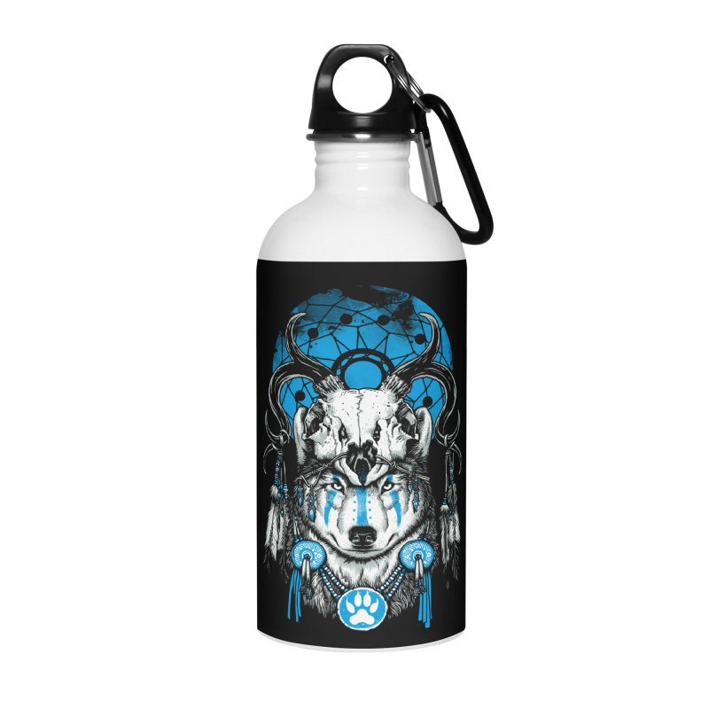 Wolf Spirit Accessories Water Bottle by ES427's Artist Shop