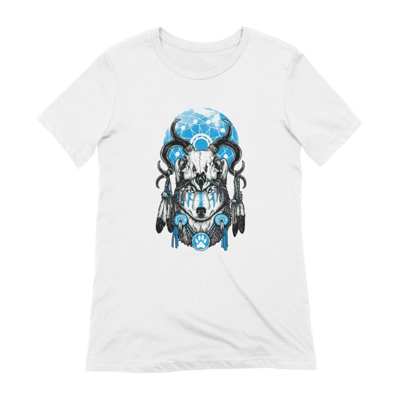 Wolf Spirit Women's Extra Soft T-Shirt by ES427's Artist Shop