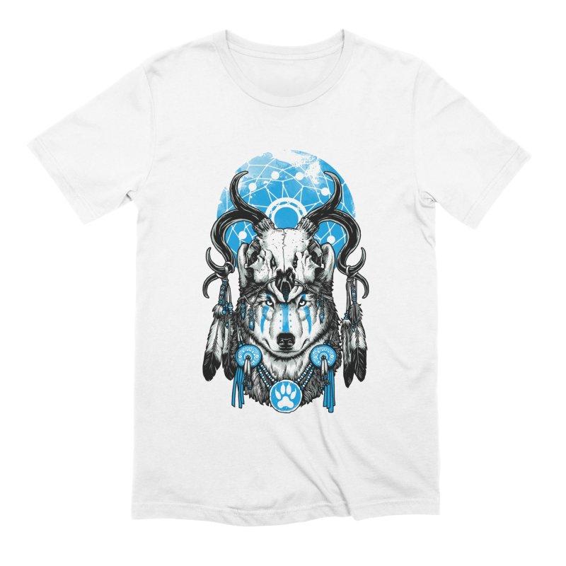 Wolf Spirit Men's Extra Soft T-Shirt by ES427's Artist Shop