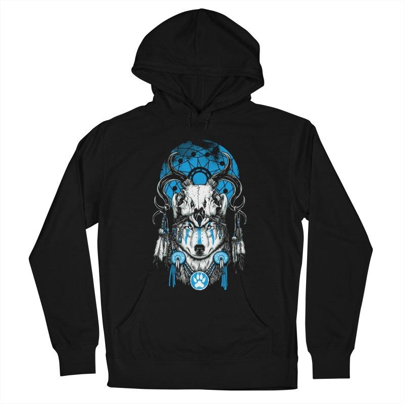 Wolf Spirit Men's Pullover Hoody by ES427's Artist Shop