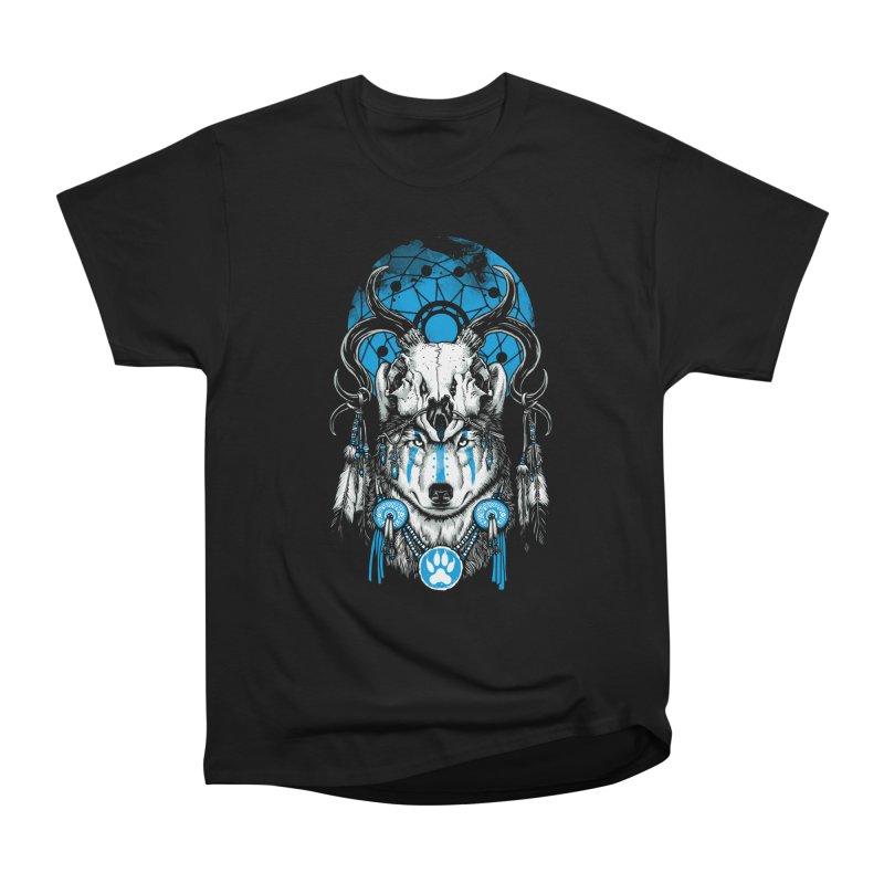 Wolf Spirit Men's Heavyweight T-Shirt by ES427's Artist Shop