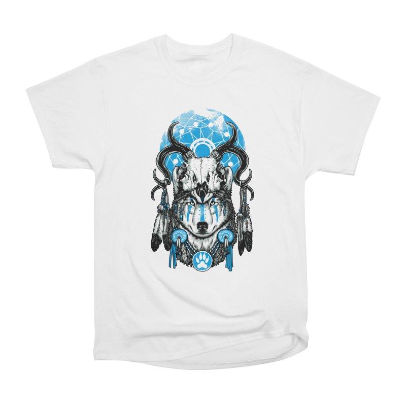 Wolf Spirit Women's Heavyweight Unisex T-Shirt by ES427's Artist Shop