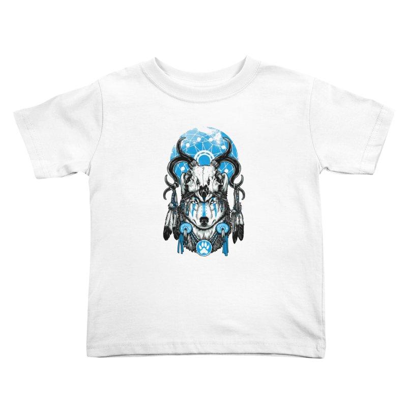 Wolf Spirit Kids Toddler T-Shirt by ES427's Artist Shop