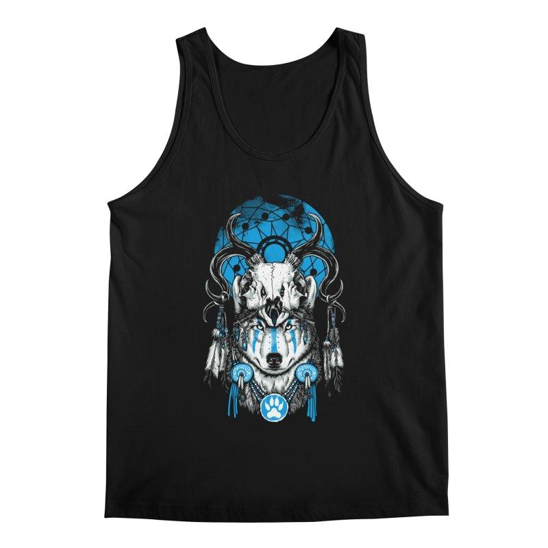 Wolf Spirit Men's Regular Tank by ES427's Artist Shop