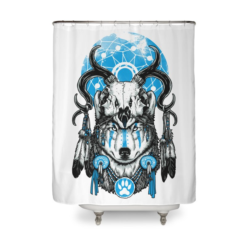 Wolf Spirit Home Shower Curtain by ES427's Artist Shop