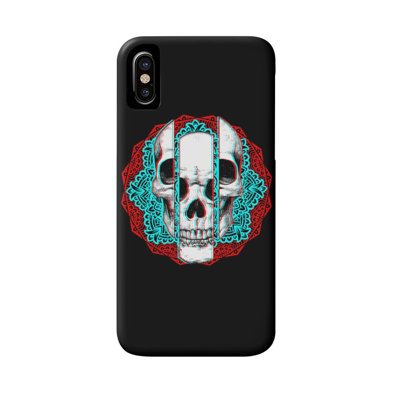 Mandala Skull Accessories Phone Case by ES427's Artist Shop