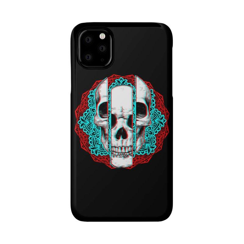 Mandala Skull Accessories Phone Case by ES427's Artist Shop