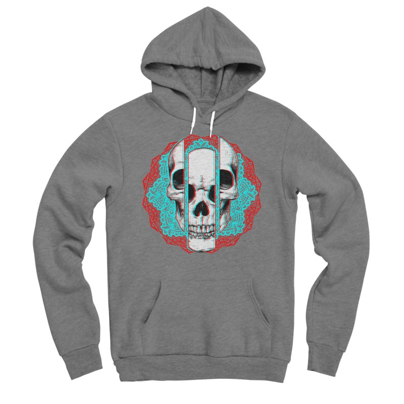 Mandala Skull Women's Sponge Fleece Pullover Hoody by ES427's Artist Shop