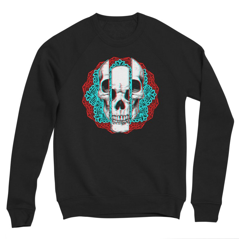 Mandala Skull Women's Sponge Fleece Sweatshirt by ES427's Artist Shop