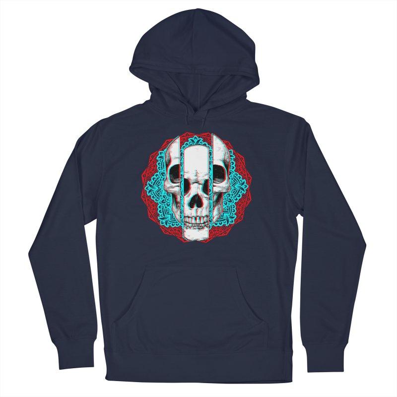 Mandala Skull Men's Pullover Hoody by ES427's Artist Shop