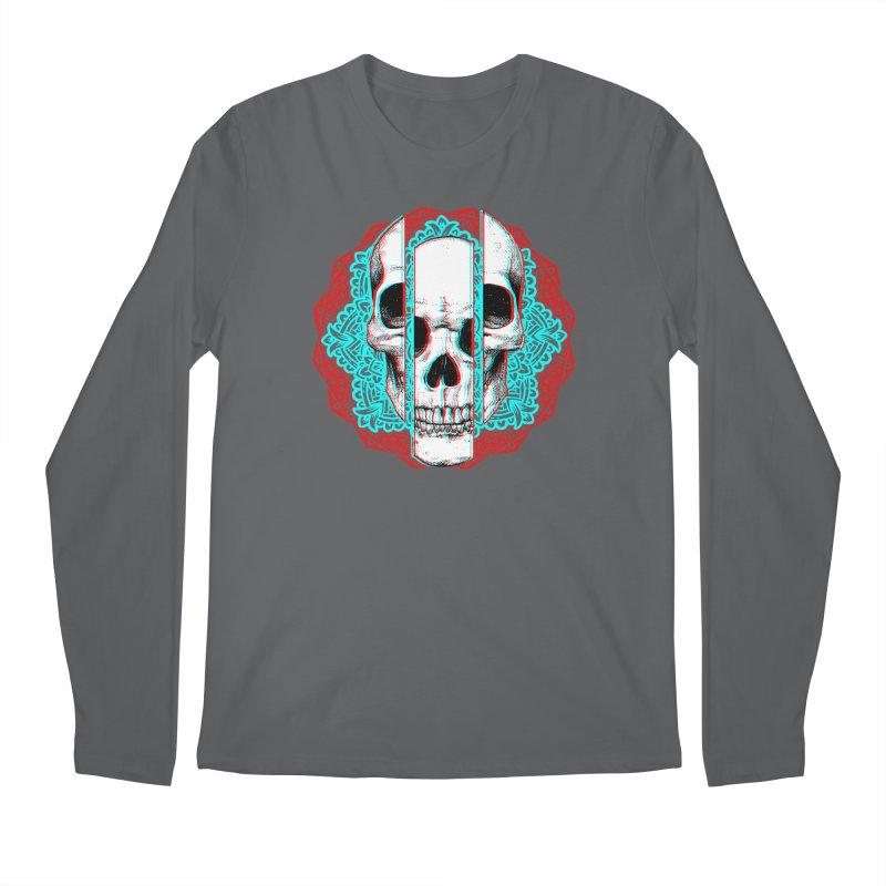Mandala Skull Men's Regular Longsleeve T-Shirt by ES427's Artist Shop