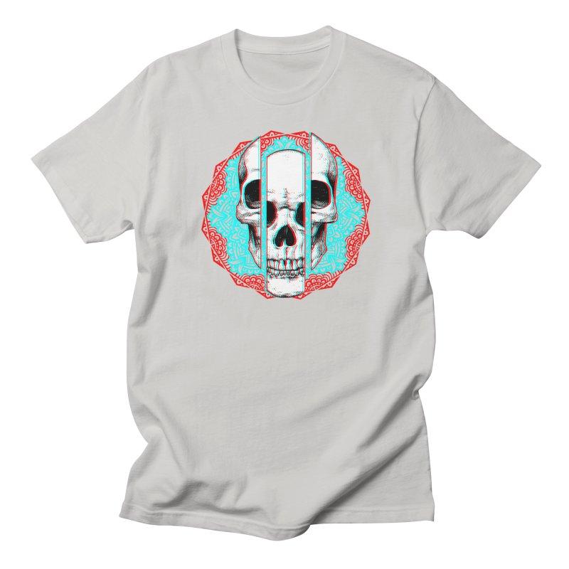 Mandala Skull Men's Regular T-Shirt by ES427's Artist Shop
