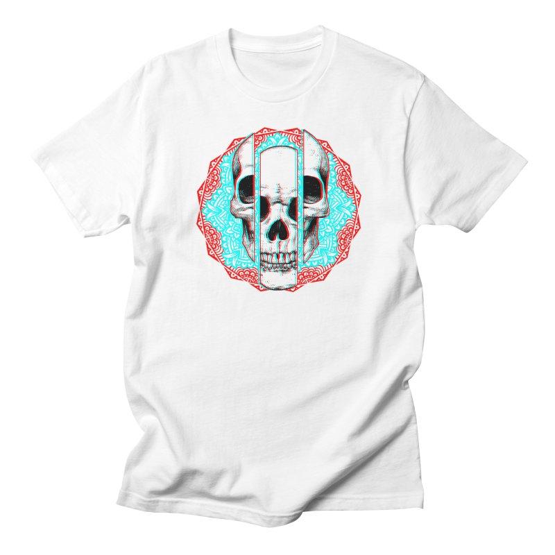 Mandala Skull Women's Regular Unisex T-Shirt by ES427's Artist Shop