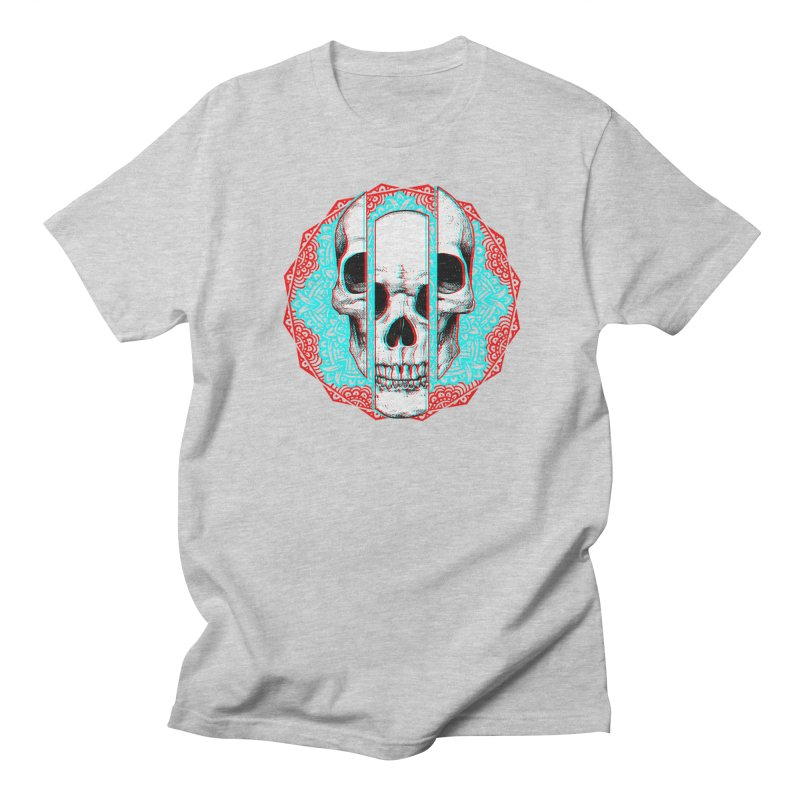 Mandala Skull Men's Regular T-Shirt by ES427's Artist Shop