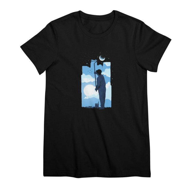 Turn of day Women's Premium T-Shirt by ES427's Artist Shop