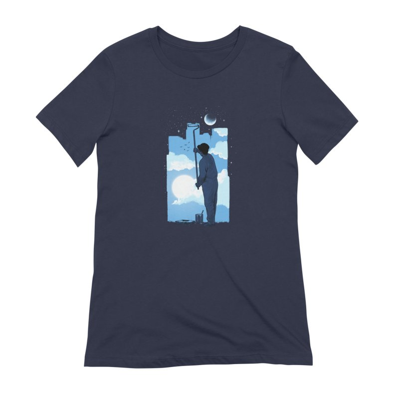 Turn of day Women's Extra Soft T-Shirt by ES427's Artist Shop