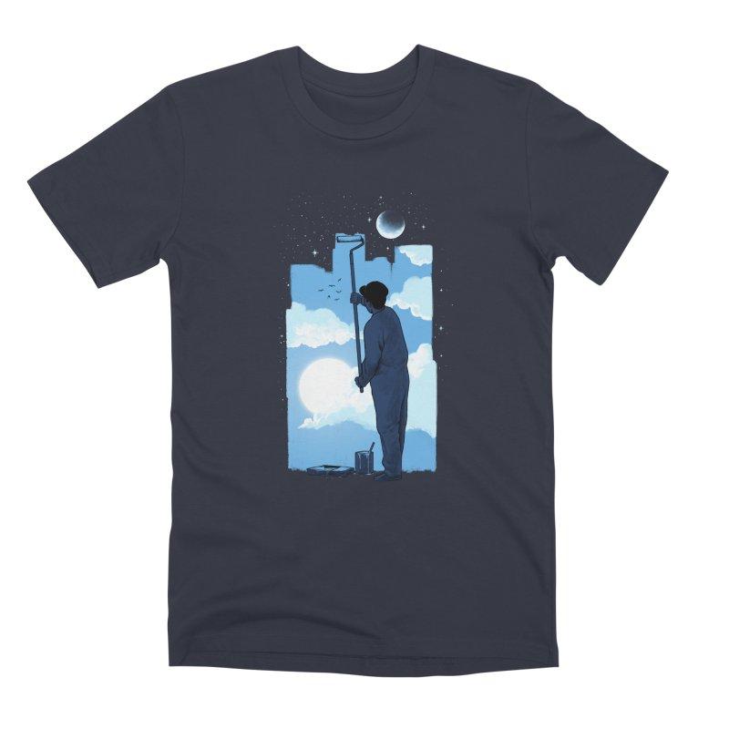 Turn of day Men's Premium T-Shirt by ES427's Artist Shop