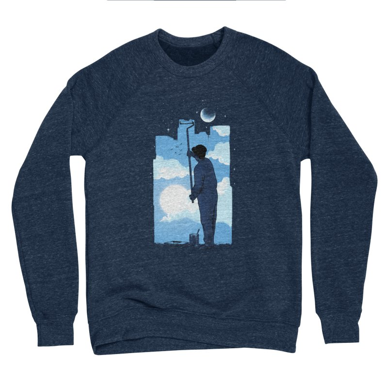 Turn of day Women's Sponge Fleece Sweatshirt by ES427's Artist Shop