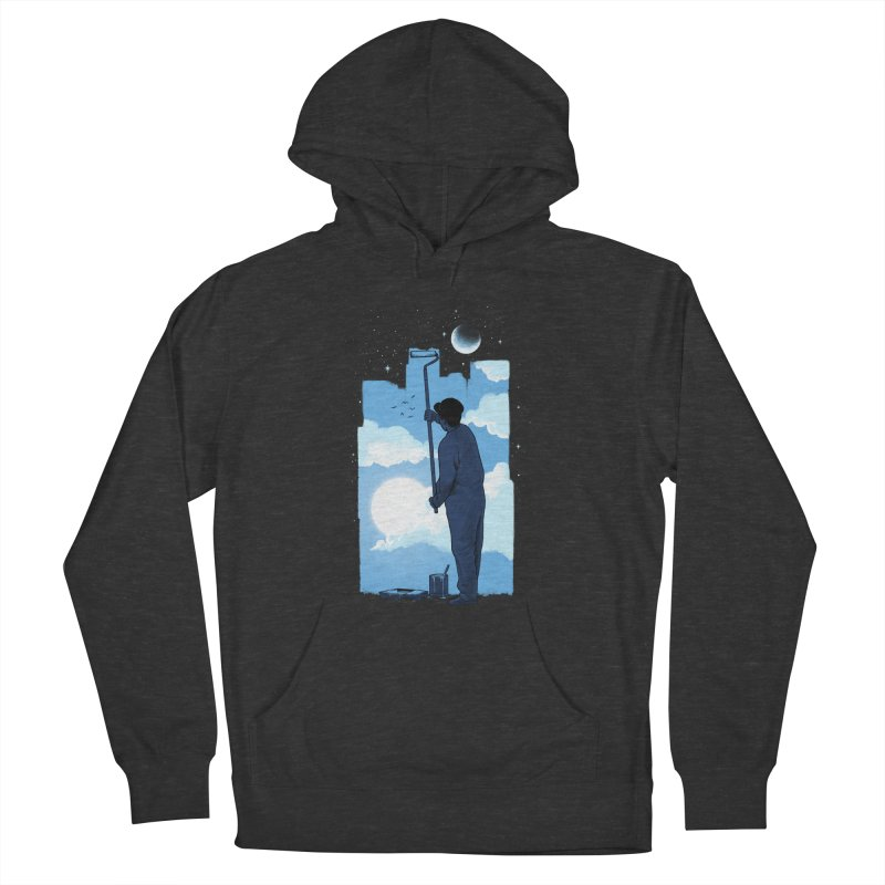 Turn of day Women's French Terry Pullover Hoody by ES427's Artist Shop
