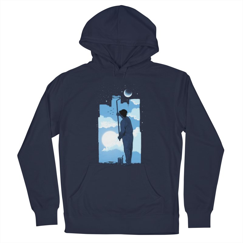 Turn of day Men's French Terry Pullover Hoody by ES427's Artist Shop