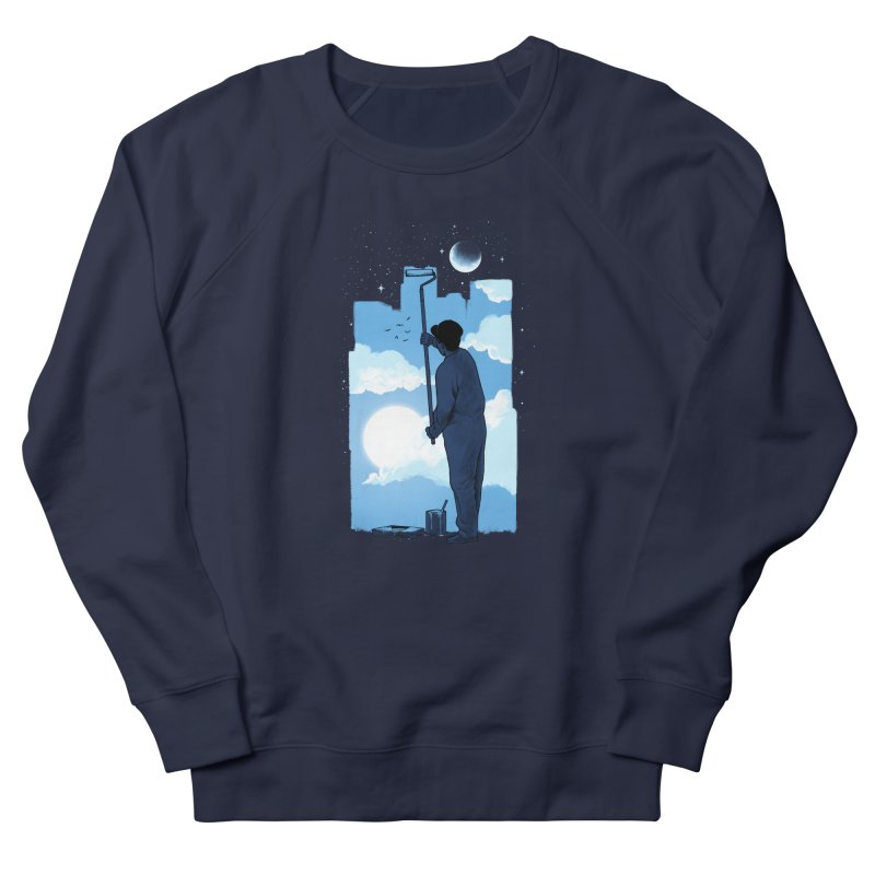 Turn of day Women's French Terry Sweatshirt by ES427's Artist Shop